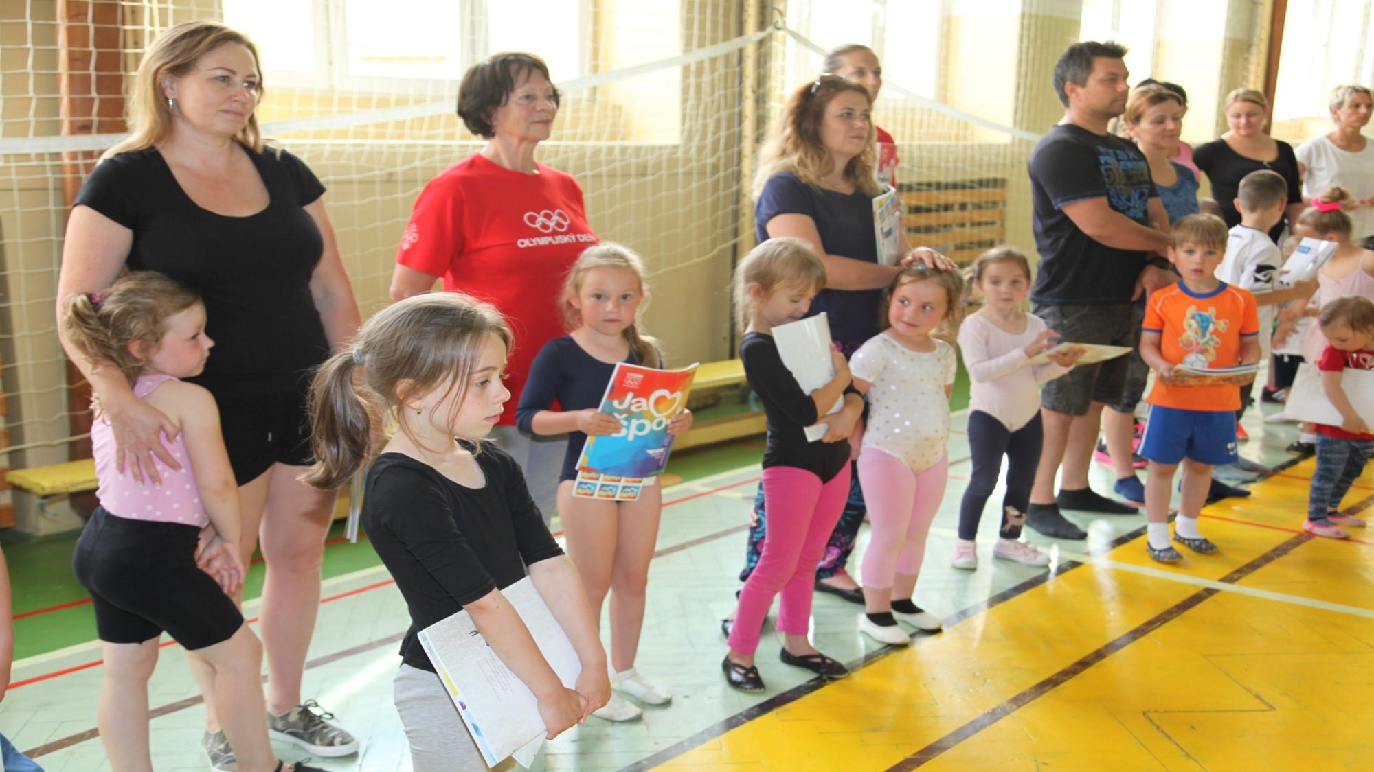 Cvičenie rodičov a deti