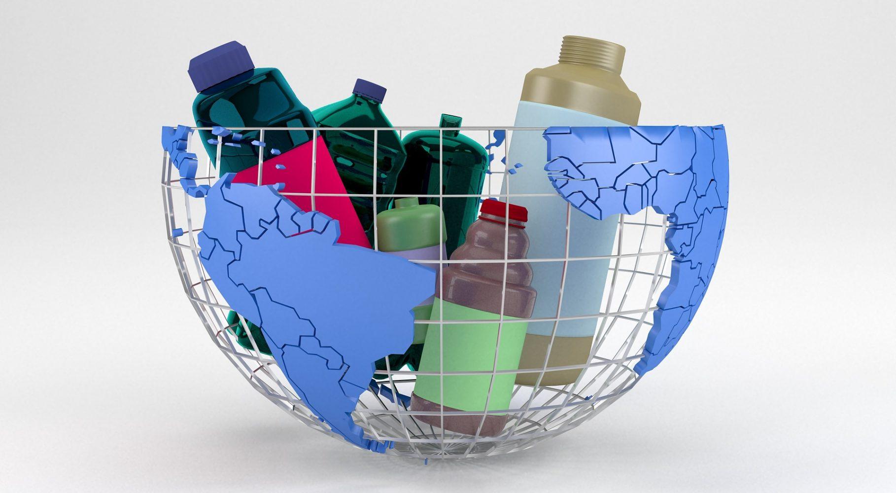 Plastové fľaše ničia našu Zem