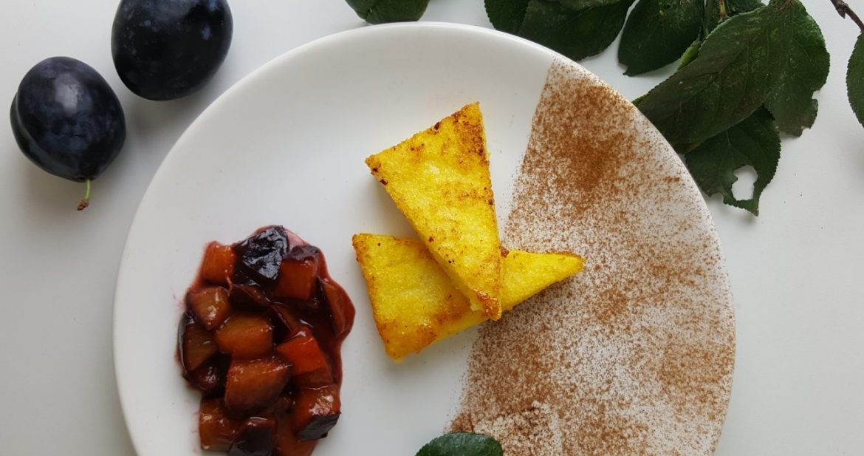 Chrumkavá polenta