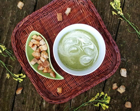 Brokolica v podobe chutnej krémovej polievky