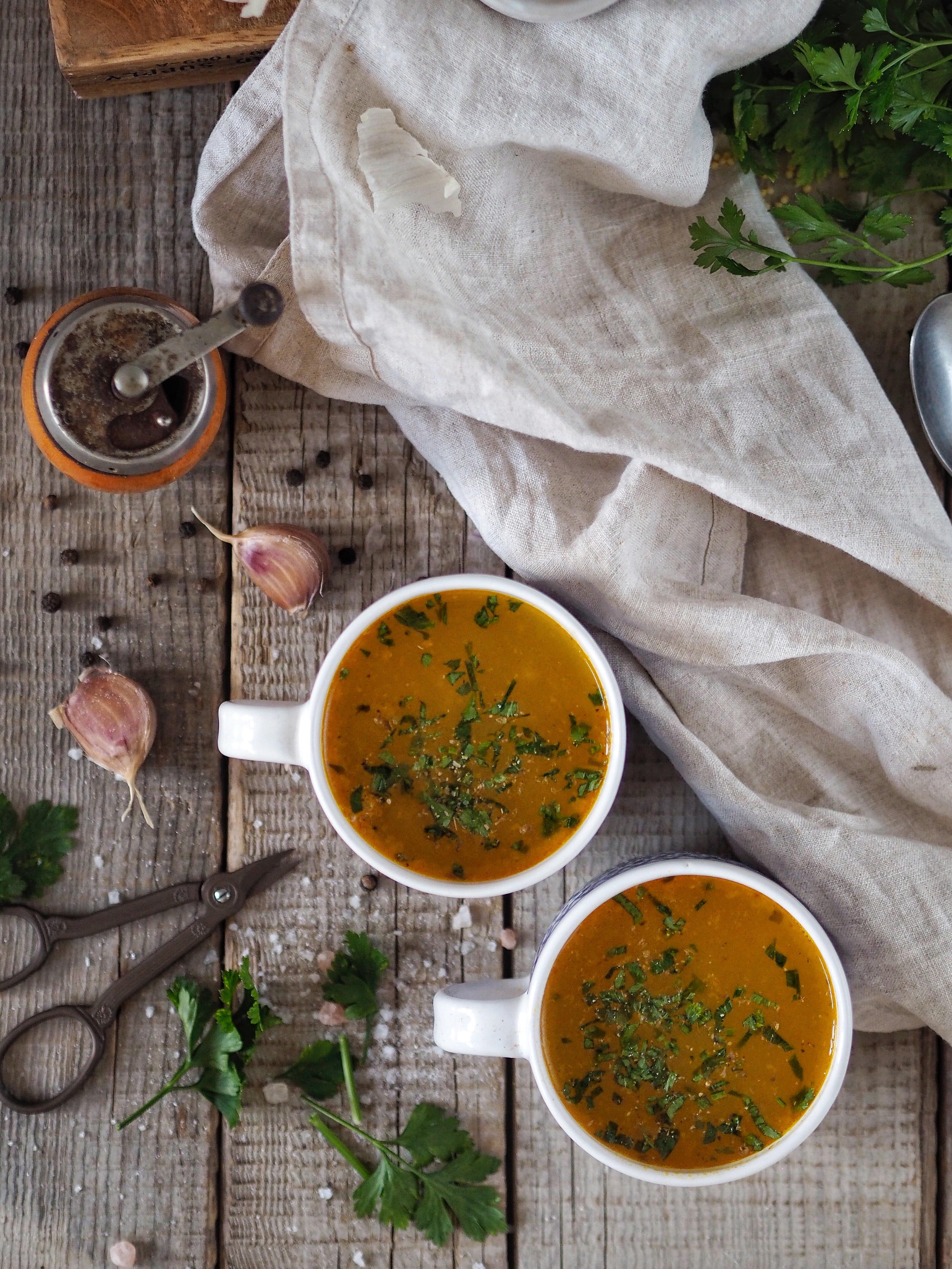 Čerstvá vňať dodá polievke nádhernú arómu