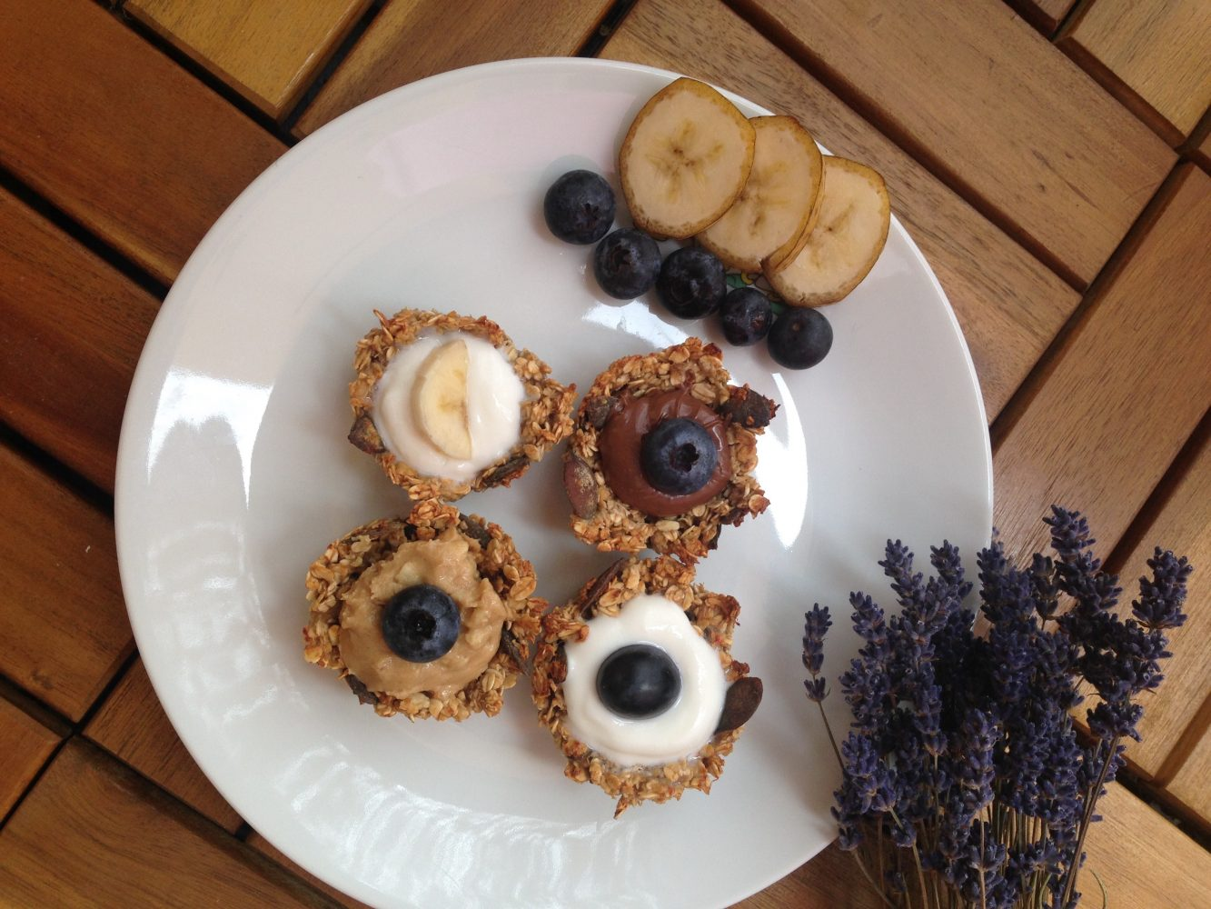 Zdravé koláčiky podľa vlastnej fantázie