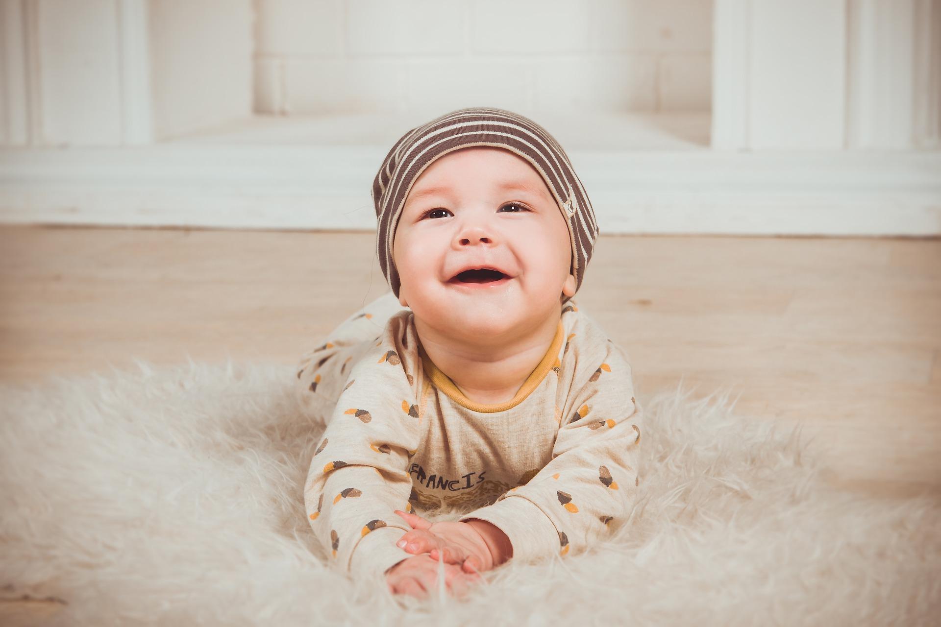 Dieťa úsmev