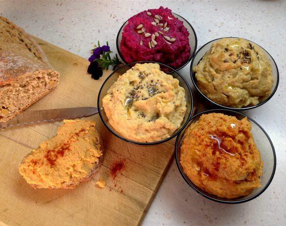 Hummus - cícerová nátierka