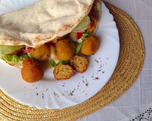 Arabský falafel