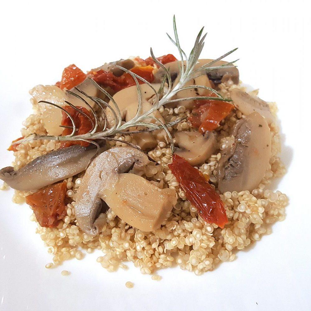Quinoa recepty