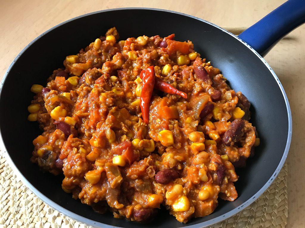 Pikantné chilli sin carne