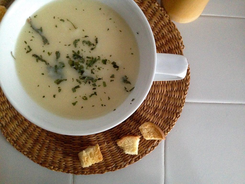 Hustá krémová polievka plná vitamínov