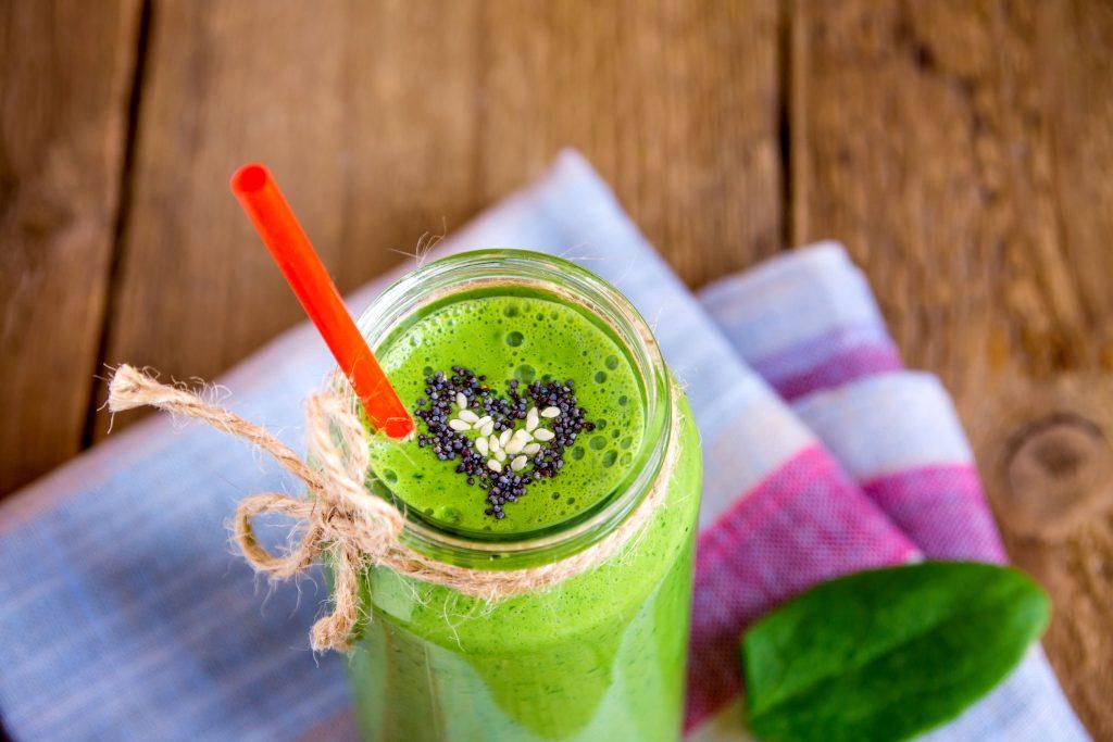 Zelené smoothie zasýti a dodá energiu