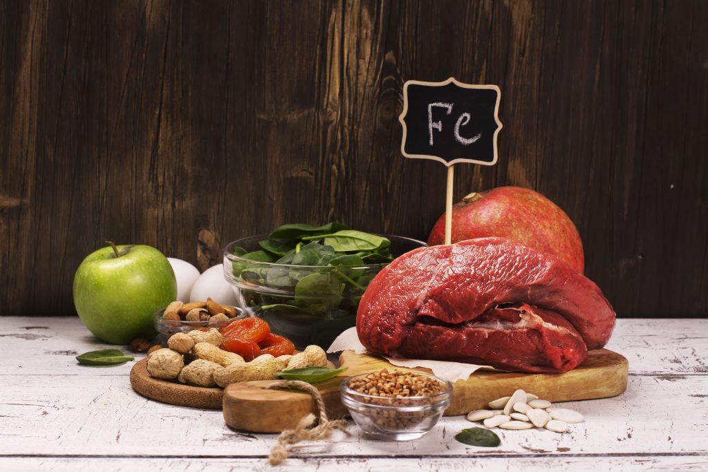 Železo je kľúčové pre prenos kyslíka v tele
